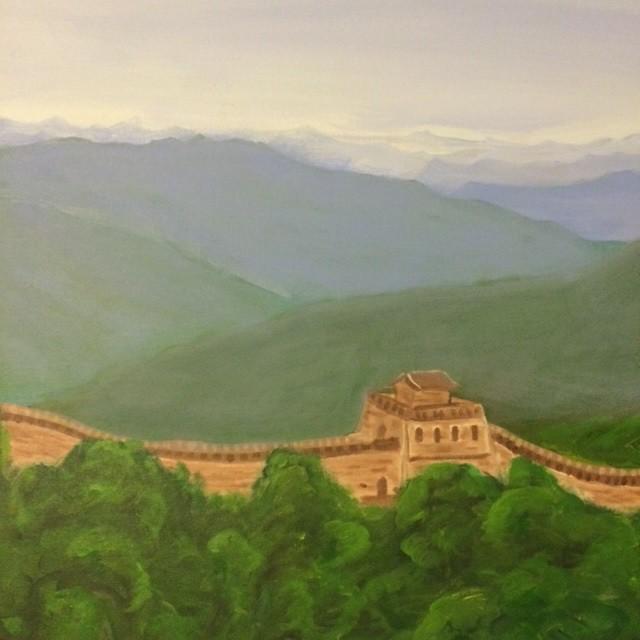 China wall 2